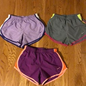 Nike dri-fit shorts, comes with all three!